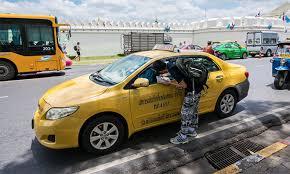 อาชีพขับรถแท็กซี่